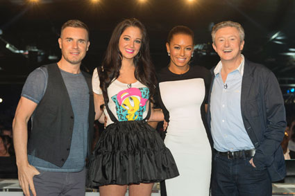 mel b to become permanent x factor judge?