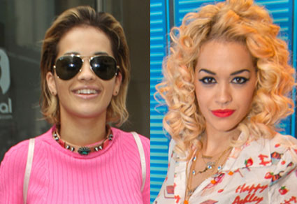 Rita Ora chops off all her hair