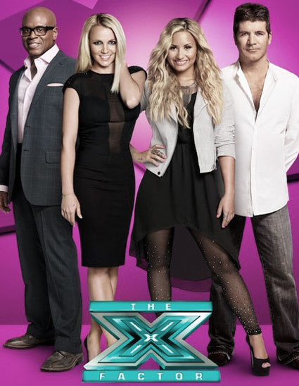 The X Factor Britney loves Demi