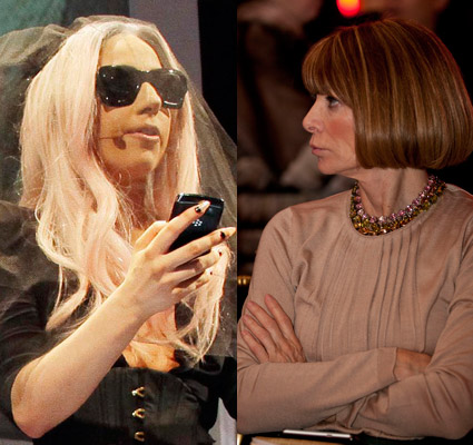 Gaga Anna Wintour