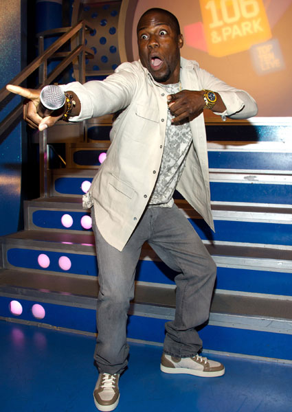 Kevin Hart banned from making Robsten jokes at the VMA awards