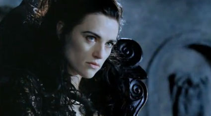 Morgana in the new Merlin trailer