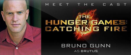 Bruno Gunn cast as Brutus in catching fire