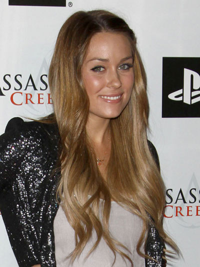 lauren conrad hair extensions. like Lauren Conrad - then