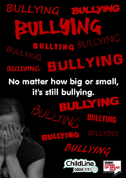 anti bullying poster bullyinguk