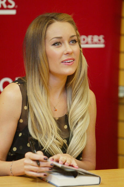 Lauren Conrad's locks would make Black Beauty ashamed of his mane.
