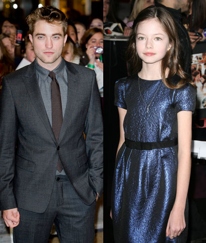Robert Pattinson and o...