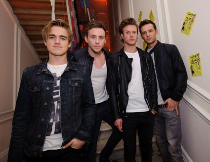 McFly recoring new album on Welsh Island