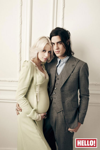 Peaches Geldof and Thomas Cohen on the cover of Hello! Magazine