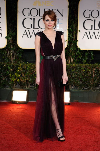 Emma Stone Dress Style of the Day