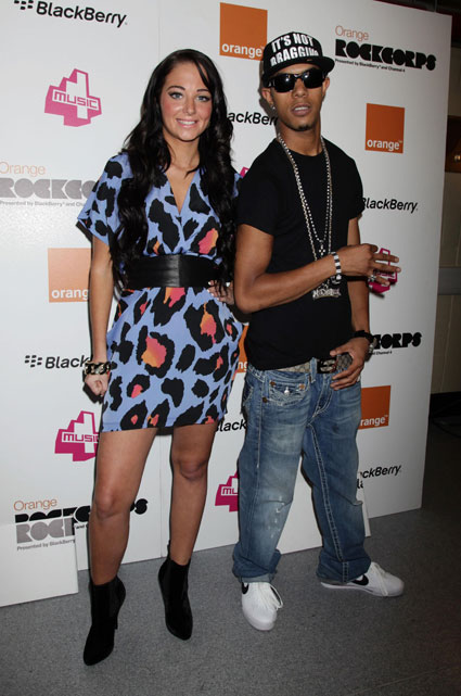 Tulisa and Fazer from N-Dubz