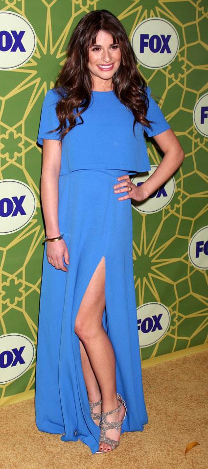 Lea Michele High Heels