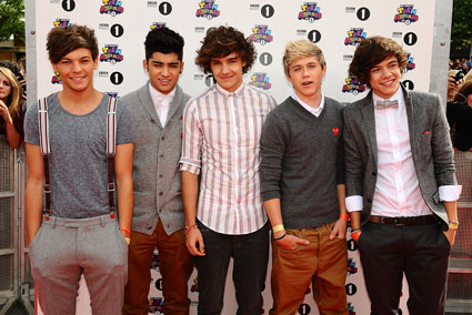 One Direction at the radio 1 teen awards