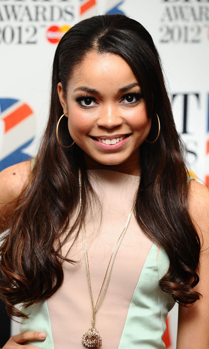 Dionne Bromfield close up picture Brits nominations 2012
