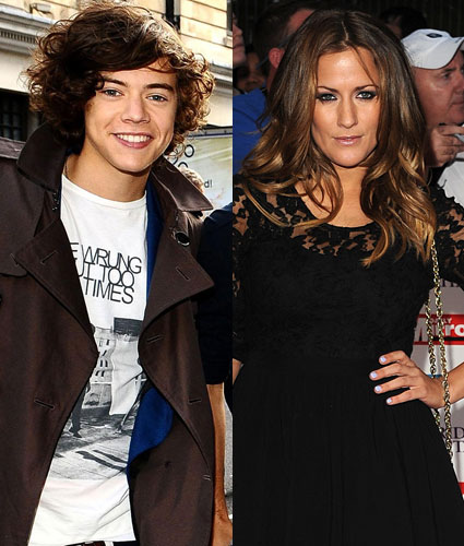 Harry Styles and ex-girlfriend Caroline flack