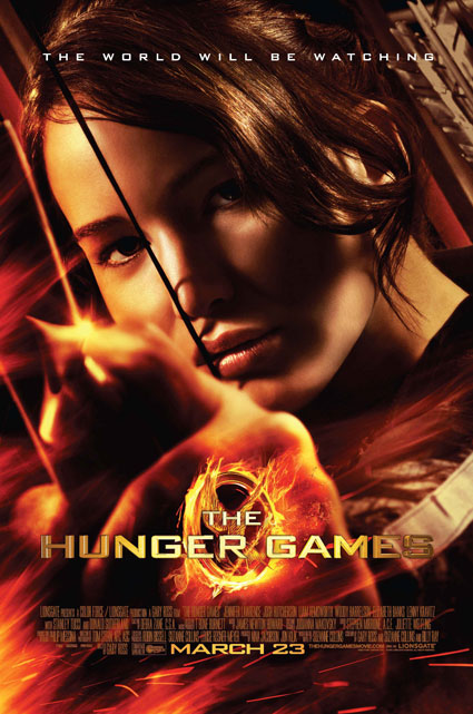 The Hunger Games Poster Katniss Jennifer Lawrence