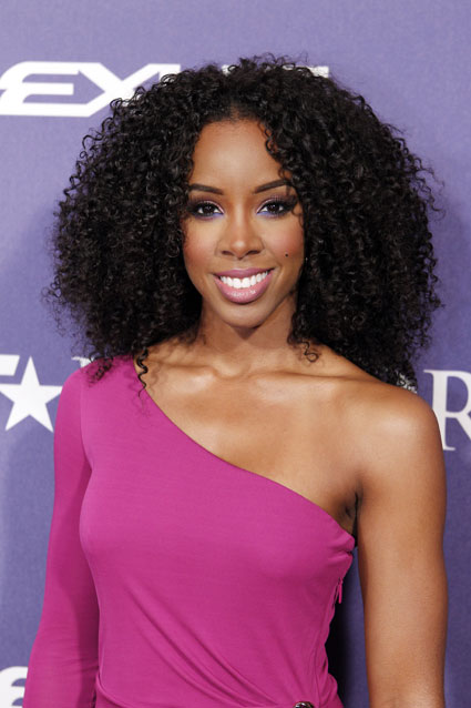 Kelly Rowland at BET Honors red carpet 2012