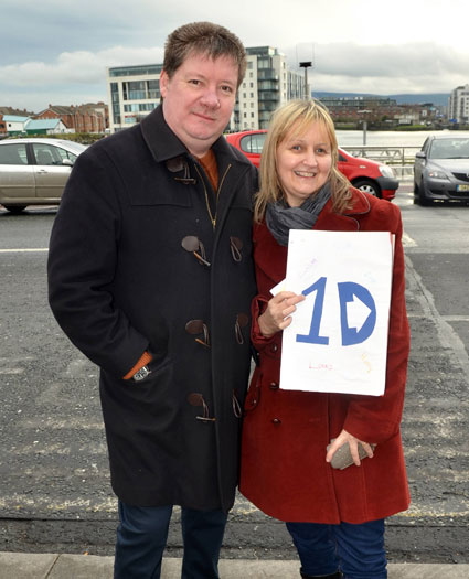 Liam Payne's parents Geoff and Karen