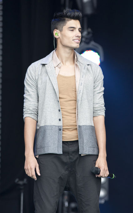 Siva Kaneswaran from The Wanted