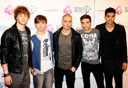 The Wanted at T4 Stars of 2011