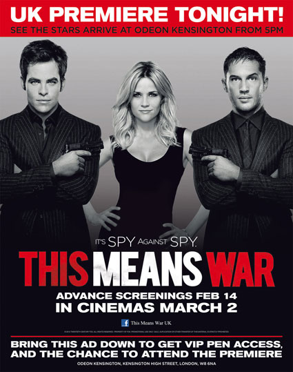 Attend the This Means War uk premiere by downloading this flyer