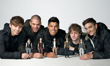 The Wanted with their doll range