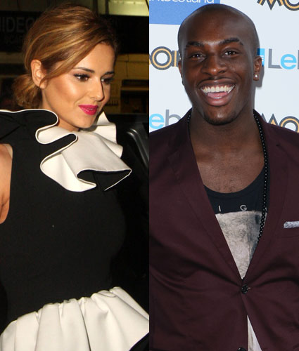 Cheryl Cole and Talay Riley