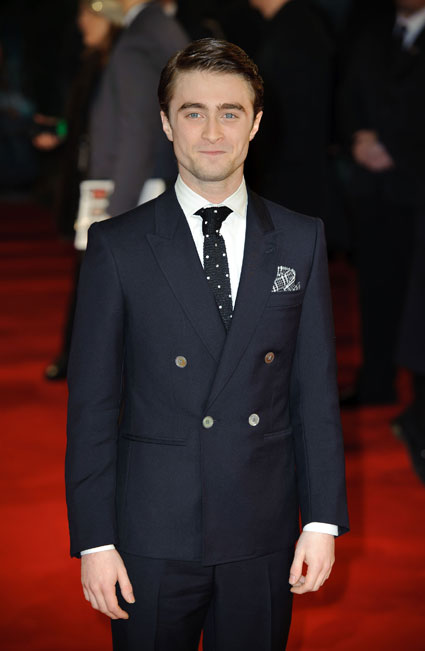 Daniel Radcliffe at Woman In Black premiere London