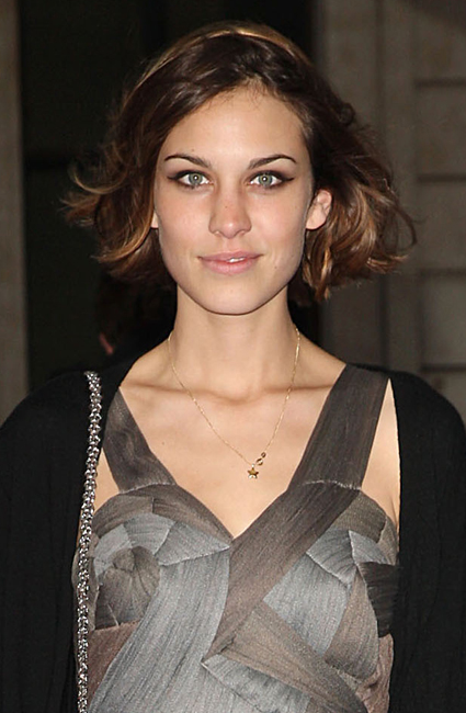 So, Alexa Chung's beauty battle - does she suit long or short hair the best?