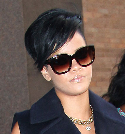 Rihanna's Highlighted Hair
