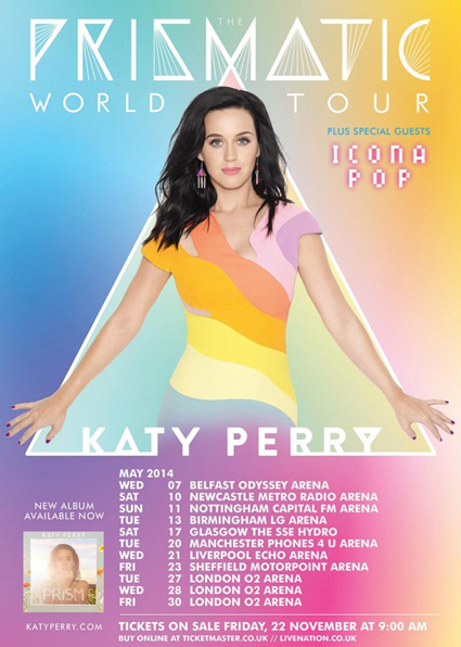 Katy Perry Prismatic World Tour - Katy Perry images - sugarscape.com