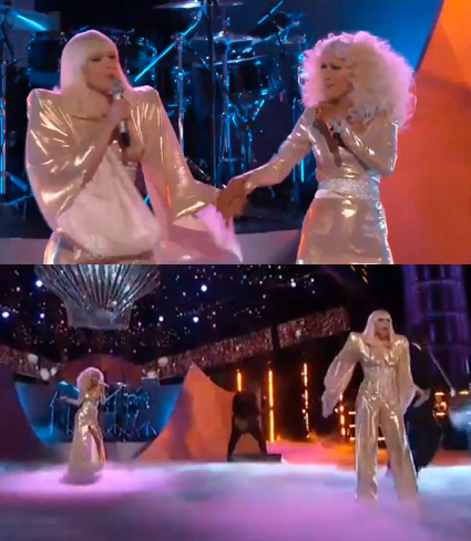 Lady Gaga and Christina Aguilera - Lady Gaga and Christina Aguilera images - sugarscape.com