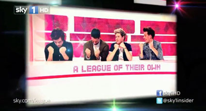 One Direction League of Their Own