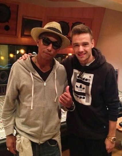 Pharrell Williams and Liam Payne - Pharrell Williams and Liam Payne images - sugarscape.com