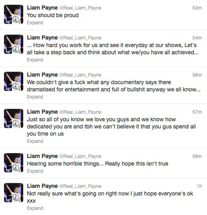 Liam Payne Crazy About One Direction