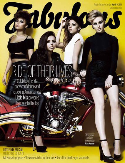 Little Mix Fabulous magazine - Little Mix images - sugarscape.com