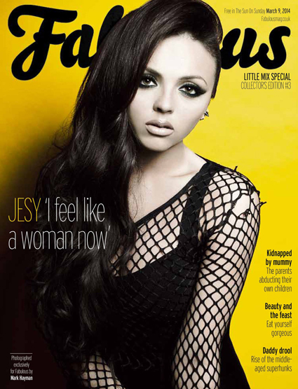 Little Mix Fabulous magazine - Jesy Nelson images - sugarscape.com