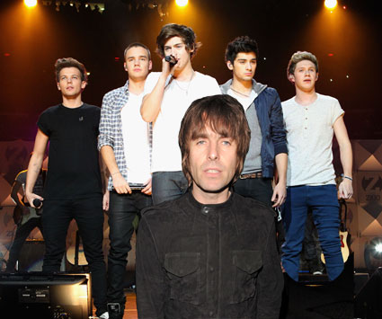 Liam Gallagher One Direction
