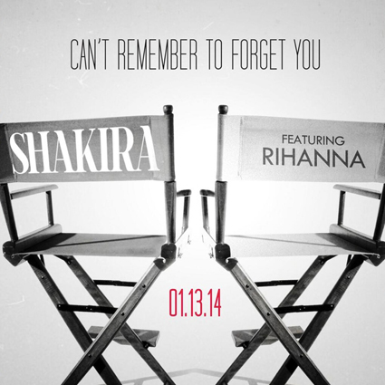 Rihanna and Shakira Can't Remember to Forget You - Rihanna and Shakira images - sugarscape.com