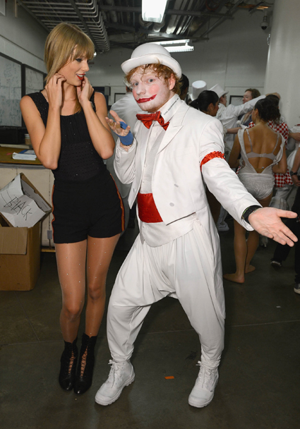 Taylor Swift and Ed Sheeran - Ed Sheeran images - sugarscape.com
