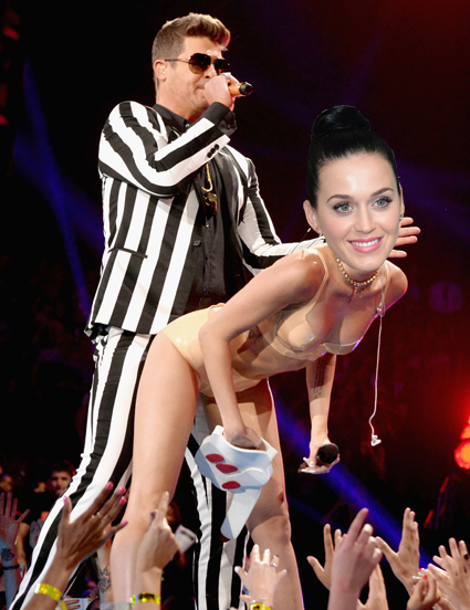 Robin Thicke and Katy Perry added to Grammys 2014 line-up - Robin Thicke and Katy Perry images - sugarscape.com