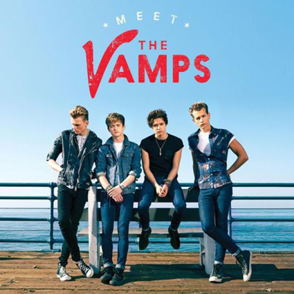 The Vamps Meet The Vamps album artwork - The Vamps images - sugarscape.com